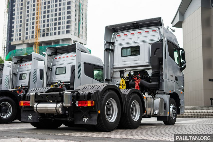 Foton Auman EST A prime mover launched in Malaysia Image #850229
