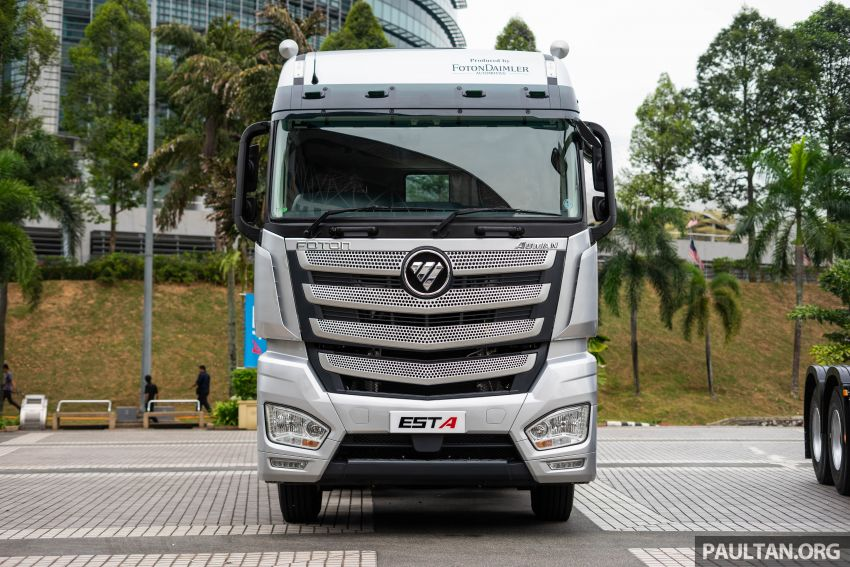 Foton Auman EST A prime mover launched in Malaysia Image #850230