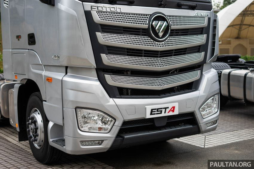 Foton Auman EST A prime mover launched in Malaysia Image #850234