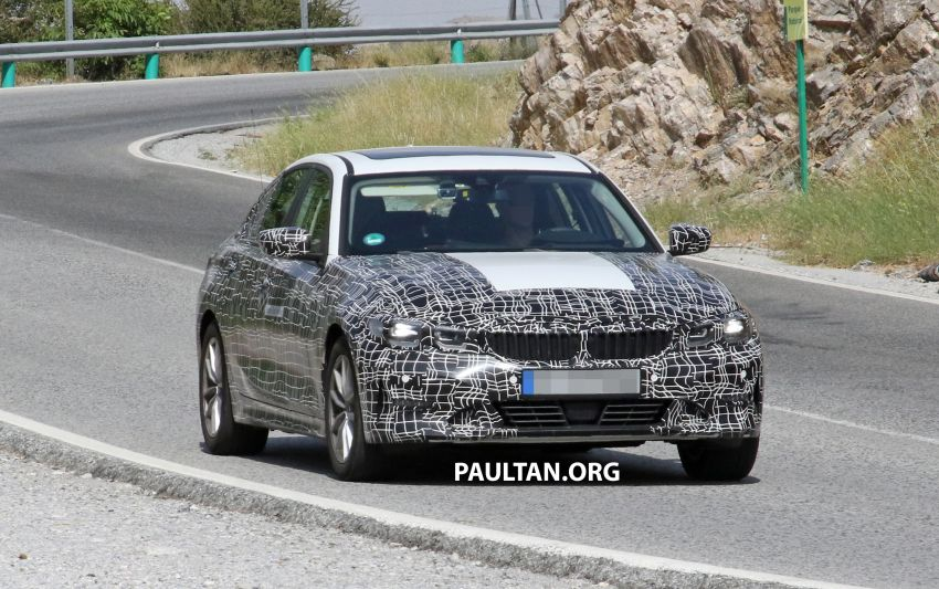 SPYSHOTS: G20 BMW 3 Series – all-electric version Image #850130