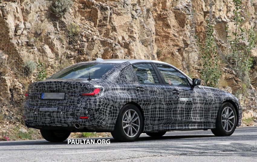 SPYSHOTS: G20 BMW 3 Series – all-electric version Image #850141