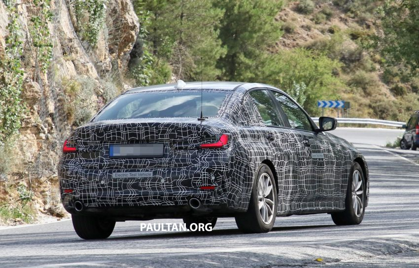 SPYSHOTS: G20 BMW 3 Series – all-electric version Image #850144