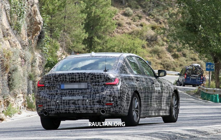 SPYSHOTS: G20 BMW 3 Series – all-electric version Image #850145