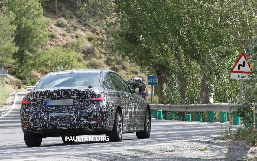SPYSHOTS: G20 BMW 3 Series – all-electric version Image #850146