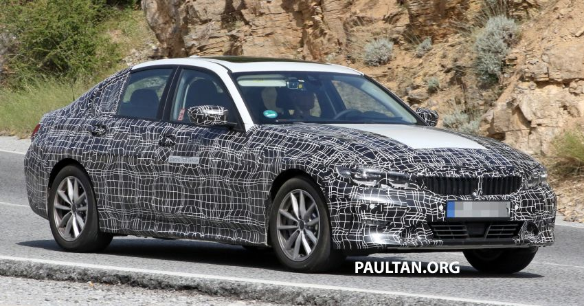 SPYSHOTS: G20 BMW 3 Series – all-electric version Image #850133