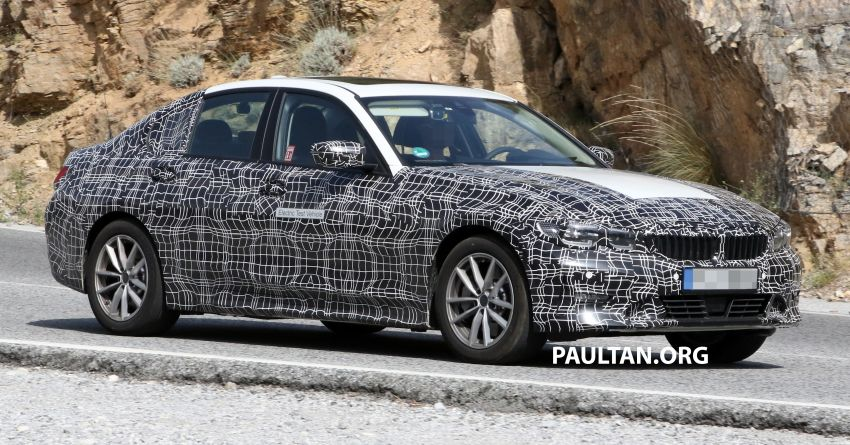 SPYSHOTS: G20 BMW 3 Series – all-electric version Image #850134