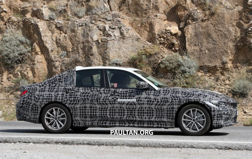 SPYSHOTS: G20 BMW 3 Series – all-electric version Image #850136