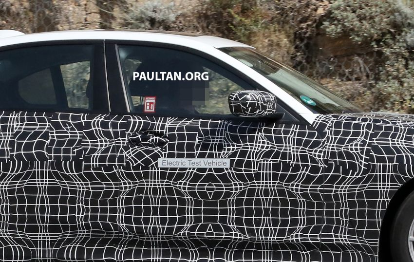 SPYSHOTS: G20 BMW 3 Series – all-electric version Image #850138