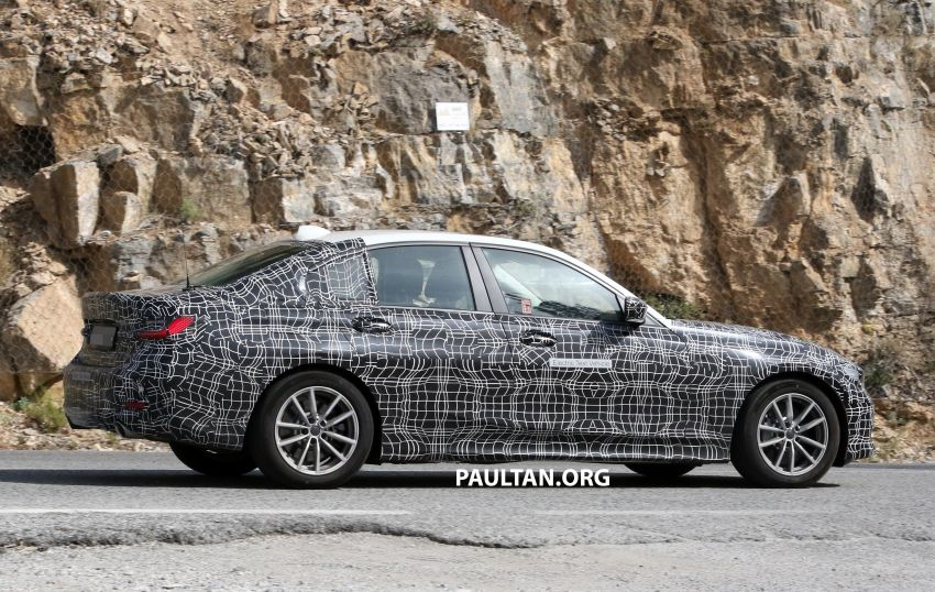 SPYSHOTS: G20 BMW 3 Series – all-electric version Image #850140