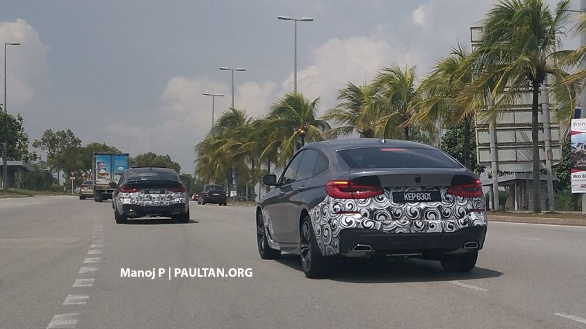 SPIED: G32 BMW 6 Series GT in Malaysia – to be CKD? Image #851751