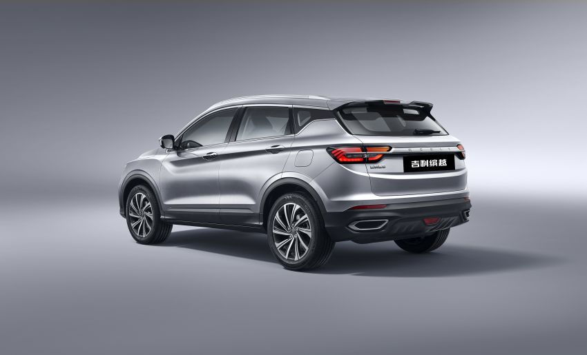 Geely SX11 B-segment crossover to be called Binyue, naming contest for international markets kicks off Image #851130
