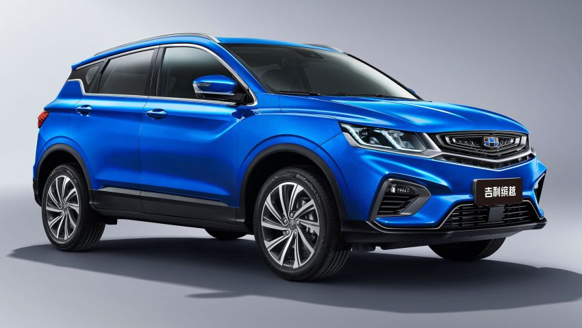 Geely SX11 B-segment crossover to be called Binyue, naming contest for international markets kicks off Image #851131