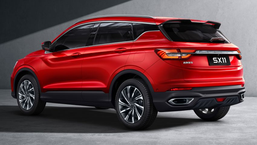 Geely SX11 B-segment SUV – first official photos Image #847994