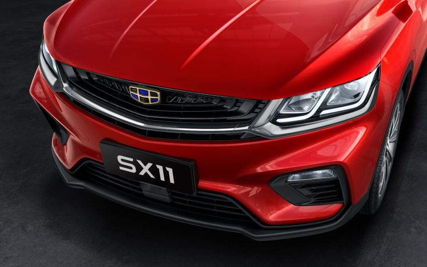 Geely SX11 B-segment SUV – first official photos Image #847989