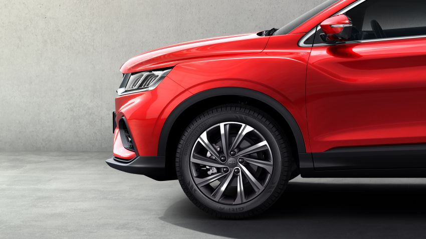 Geely SX11 B-segment SUV – first official photos Image #847991
