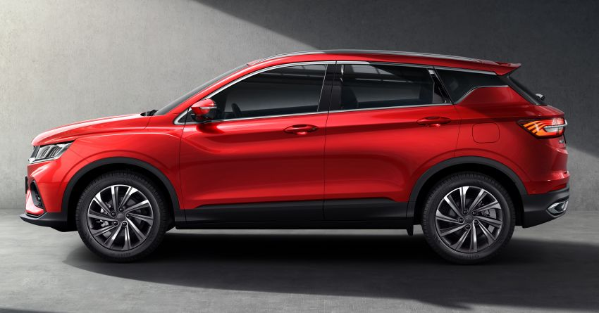 Geely SX11 B-segment SUV – first official photos Image #847992