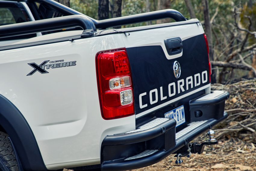 Holden Colorado Z71 Xtreme – concept-inspired cues Image #849391
