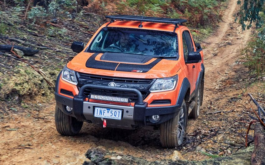 Holden Colorado Z71 Xtreme – concept-inspired cues Image #849393