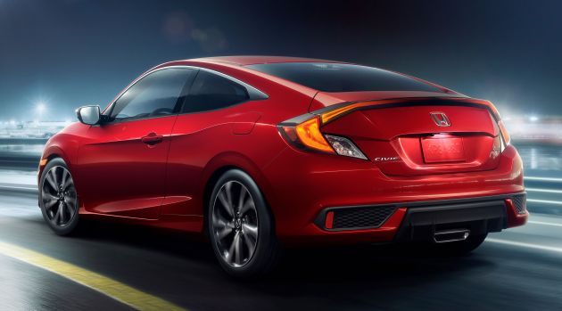 2019 Honda Civic Fc Gets Mid Life Facelift In The Us