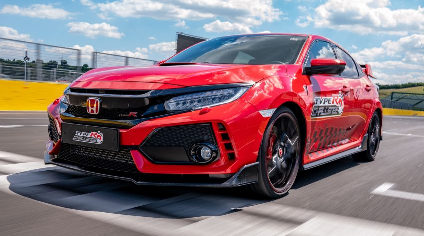 FK8 Honda Civic Type R sets Hungaroring FWD record Image #848261