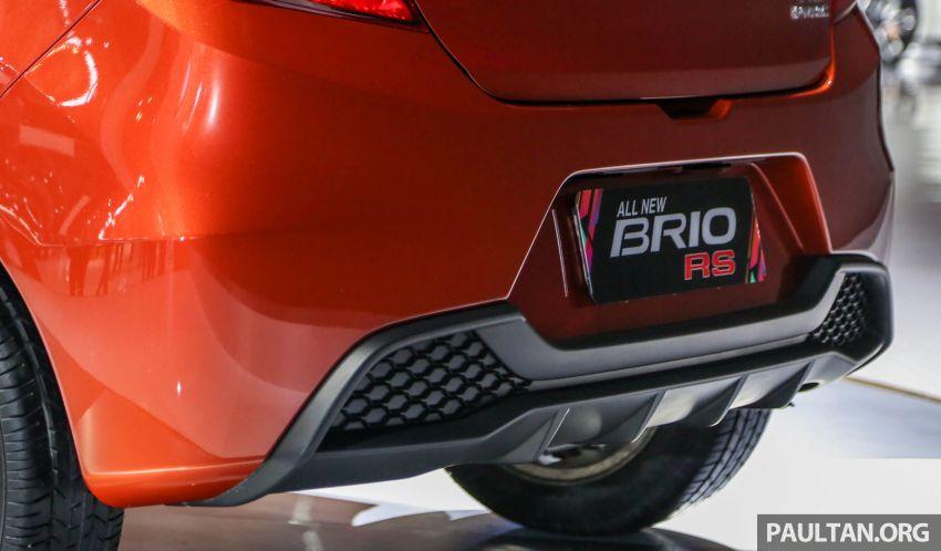 New Honda Brio makes world debut at GIIAS Indonesia Image #845985
