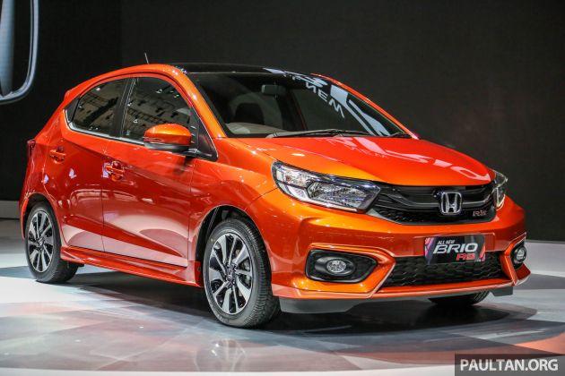 New Honda Brio Makes World Debut At Giias Indonesia