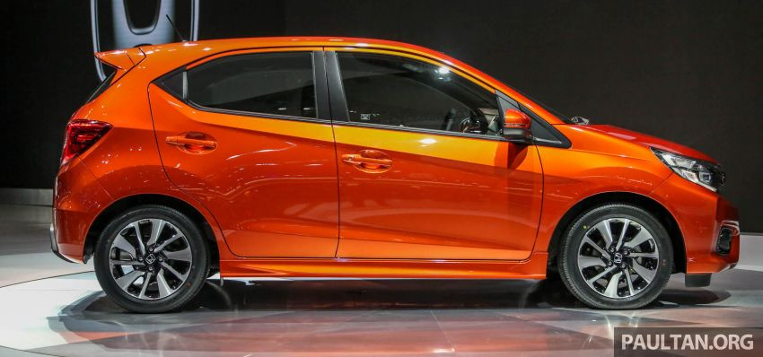 New Honda Brio makes world debut at GIIAS Indonesia Image #846196