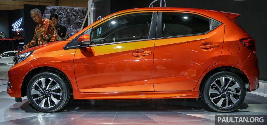 New Honda Brio makes world debut at GIIAS Indonesia Image #845979