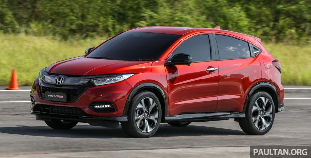 Driven 2018 Honda Hr V Rs Facelift Review In Malaysia