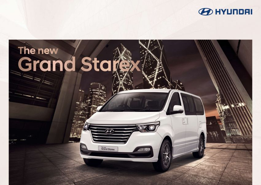Hyundai Grand Starex facelift launched in Thailand Image #851672
