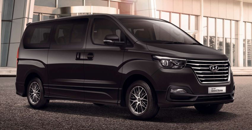 Hyundai Grand Starex facelift launched in Thailand