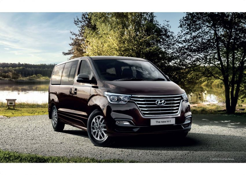 Hyundai Grand Starex facelift launched in Thailand Image #851670