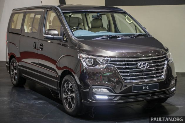 GIIAS 2018: Facelifted Hyundai Grand Starex, H-1 MPV