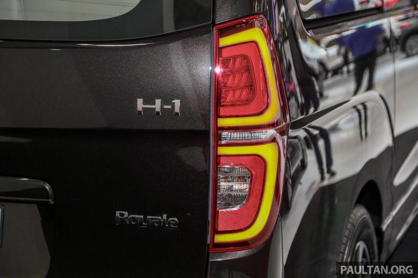 GIIAS 2018: Hyundai Grand Starex, H-1 MPV <em>facelift</em> Image #849906