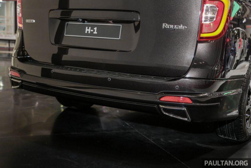GIIAS 2018: Hyundai Grand Starex, H-1 MPV <em>facelift</em> Image #849907