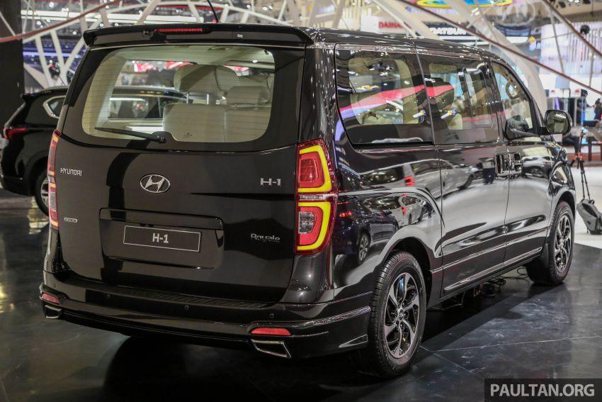 GIIAS 2018: Facelifted Hyundai Grand Starex, H-1 MPV Image #849359