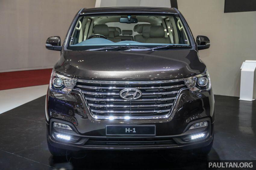 GIIAS 2018: Hyundai Grand Starex, H-1 MPV <em>facelift</em> Image #849896