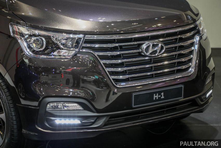 GIIAS 2018: Facelifted Hyundai Grand Starex, H-1 MPV Image #849362