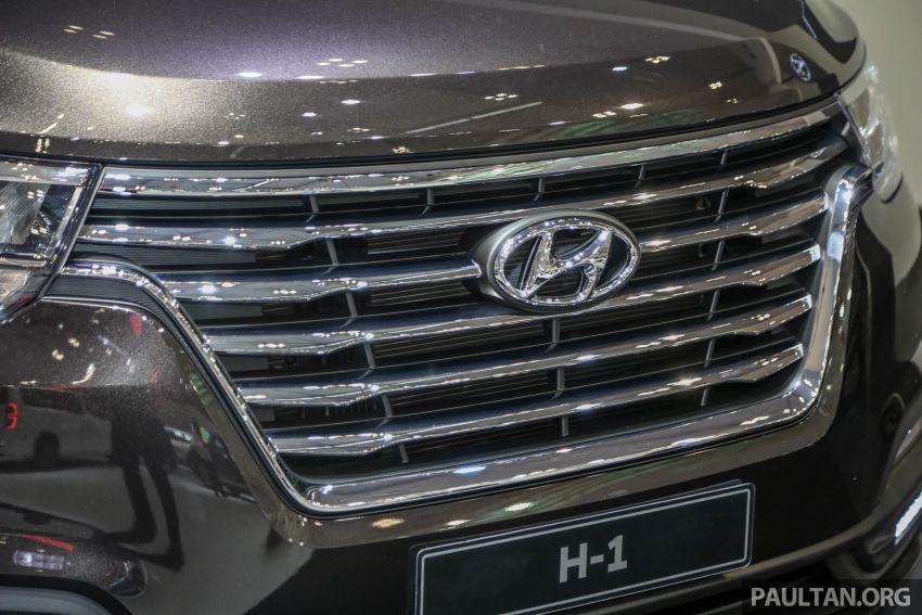 GIIAS 2018: Facelifted Hyundai Grand Starex, H-1 MPV Image #849364
