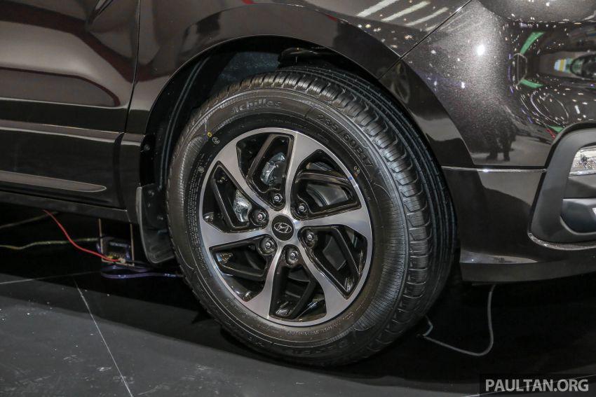 GIIAS 2018: Facelifted Hyundai Grand Starex, H-1 MPV Image #849366