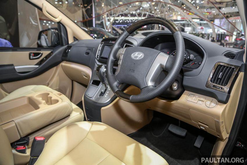 GIIAS 2018: Hyundai Grand Starex, H-1 MPV <em>facelift</em> Image #849910