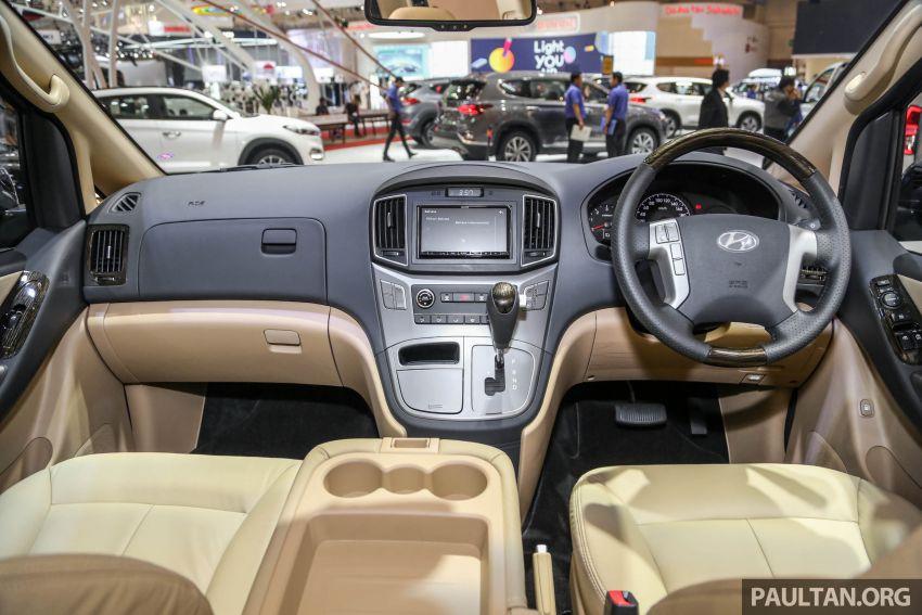GIIAS 2018: Hyundai Grand Starex, H-1 MPV <em>facelift</em> Image #849911
