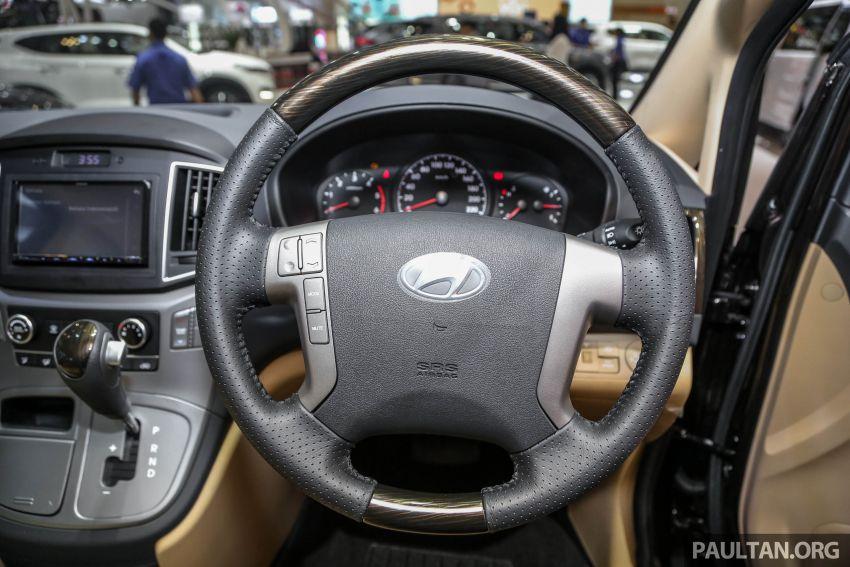 GIIAS 2018: Hyundai Grand Starex, H-1 MPV <em>facelift</em> Image #849912