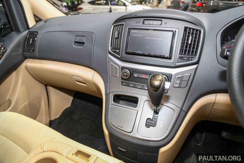 GIIAS 2018: Hyundai Grand Starex, H-1 MPV <em>facelift</em> Image #849916