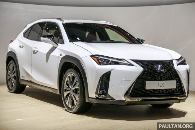 giias 2018 lexus ux junior suv makes asian debut. Black Bedroom Furniture Sets. Home Design Ideas