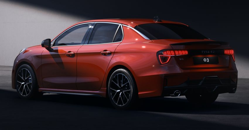 Lynk & Co 03 – new sedan unveiled in first photos Image #845336