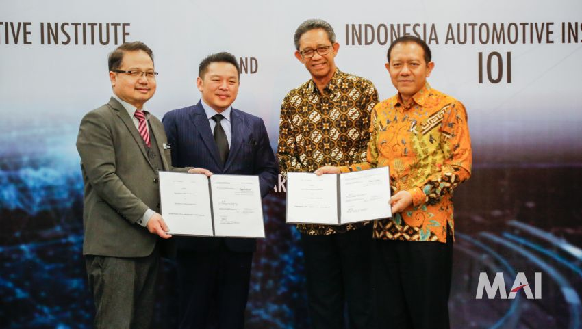 Malaysia Automotive Institute and Institut Otomotif Indonesia to work towards development of ASEAN car Image #850219