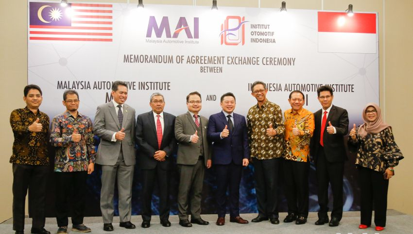 Malaysia Automotive Institute and Institut Otomotif Indonesia to work towards development of ASEAN car Image #850220
