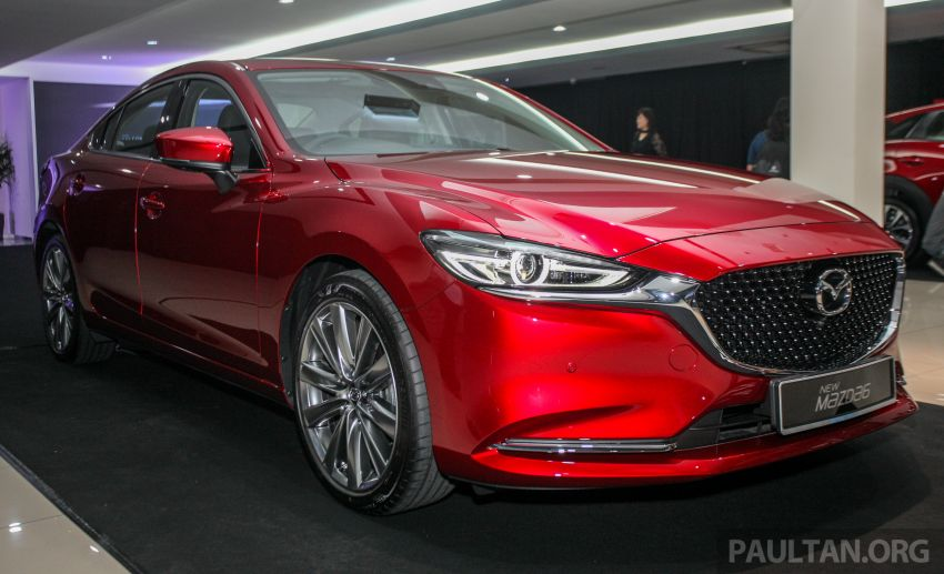 2018 Mazda 6 facelift previewed in M'sia – four variants Image #849772