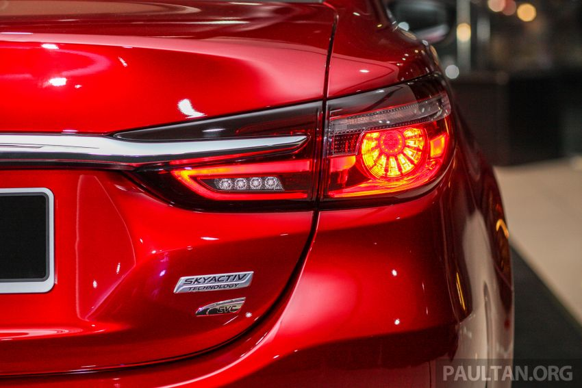 2018 Mazda 6 facelift previewed in M'sia – four variants Image #849806